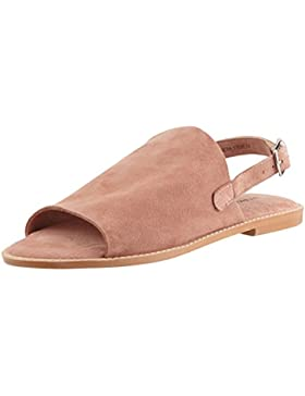 VERO MODA Damen Vmmea Leather Sandal Slingback