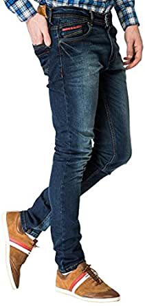 American Swan Men's Slim Fit Jeans (Indigo) (8903938095723)
