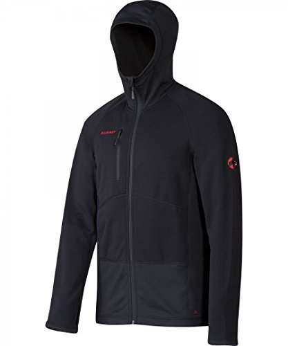 Mammut Aconcagua Pro ML Hooded Jacket Men - Fleecejacke Black