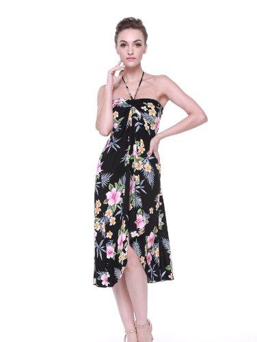 Hawaii-Hawaiian-de-la-resaca-mujeres-Mariposa-Vestido