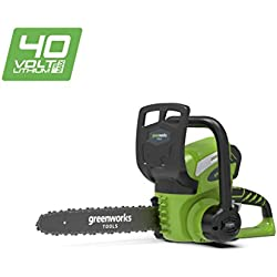 Greenworks Tronçonneuse sans fil sur batterie 30cm 40V Lithium-ion (sans batterie ni chargeur) - 20117