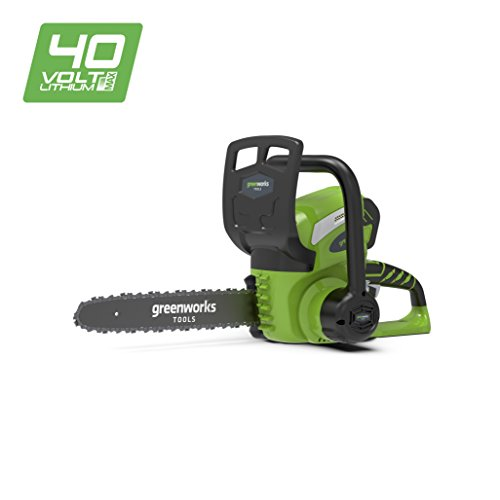 Greenworks Motosierra inalámbrica de 30cm y 40V Li-Ion sin batería ni cargador  - 20117