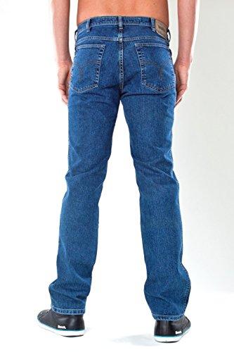 JEANSWEAR rEVILS aUTHENTIC paNTALON jeans Bleu - indigo stone washed