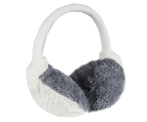 FabSeasons Winter Outdoor wear Adjustable Knitted Ear Muffs/Warmer for Girls and Women, Ideal Head/Hair Accessory during winters
