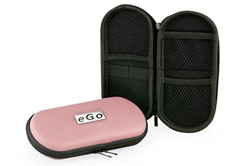 Aufbewahrungs-Etui Ego für E-Zigaretten und E-Shishas ideal als Tasche Hülle Bag Case zum Schutz oder für Liquids und Zubehör Rose Pink
