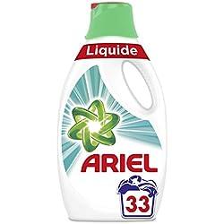 ARIEL Febreze Lessive Liquide 1,815L 33Lavages - Lot de 2