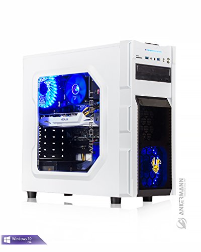 Ankermann-PC Gaming Pc / Multimedia , AMD FX 6300 6x3,5GHz Turbo:4,10GHz, MSI Radeon RX 560 4GB OC, 8GB RAM, 2TB HDD, Microsoft Windows 10 Professional, Cardreader 7in1, EAN 4260409324602