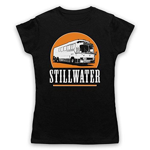 Inspiriert durch Almost Famous Stillwater Inoffiziell Damen T-Shirt Schwarz