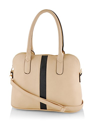 Mark & Keith Women Beige Handbag ( MBG 0296 BG BK )
