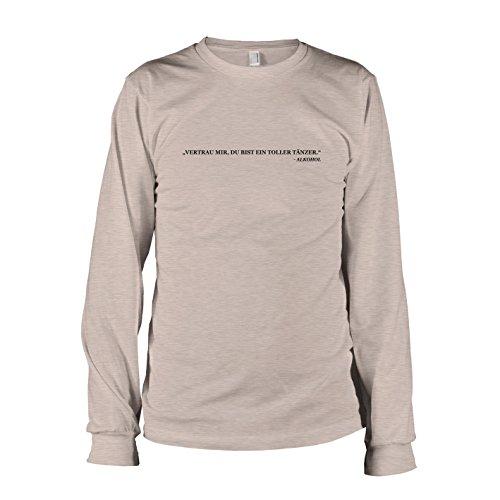 TEXLAB - Toller Tänzer - Langarm T-Shirt Graumeliert