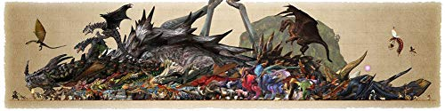 Bovi Wholesale 10pcs De Gros 56 x 14 inch Or 96 x 24 inch/140 x 35 cm Or 239 x 60 cm Monster Hunter Silk Poster (56x14 inch)