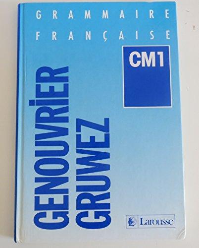 Grammaire française, CM1