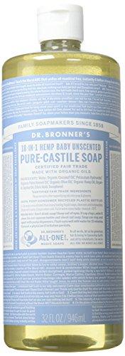 Dr Bronners Organic Baby-Mild Castile Liquid Soap 946ml
