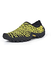 WILLIAM MARTIN Unisex-Kinder Rebelation Fitnessschuhe, Gelb (Yellow), 32 EU