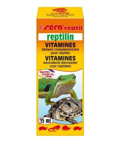 Sera Reptil reptilin–multivitamine para Reptiles para un Forte Sistema Immunitario