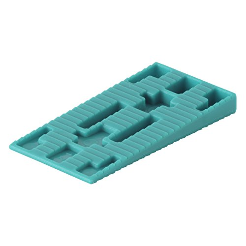 Wolfcraft 6930000 40 Cales de Dilatation en Plastique 58 x 30 mm
