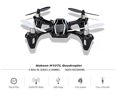 Upgraded Hubsan X4 RC Quadcopter