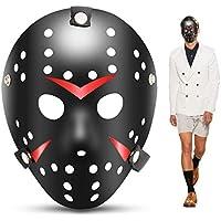 edealing 1PCS Vintage Jason Voorhees Freddy Hockey Festival Máscara de fiesta de disfraces de Halloween (