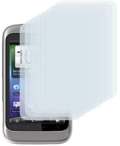8 x mumbi Displayschutzfolie HTC Wildfire S Schutzfolie