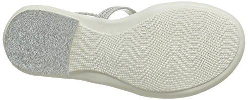 ASSO 40601, Sandales Fille Blanc (White)