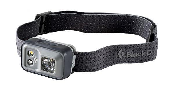 Black Diamond Klettergurt Größentabelle : Black diamond gemini headlamp smu steel grey amazon sport