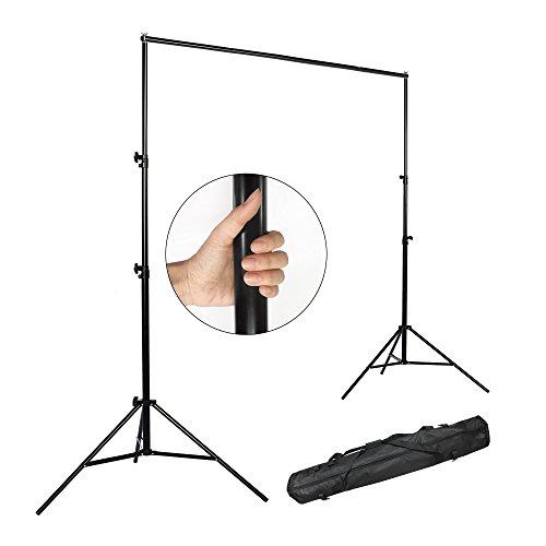 PMS 2.8 x 3m 35mm Sistema de Soporte para Fondo de Estudio Fotográfia fotográfico vídeo de Foto y Vídeo