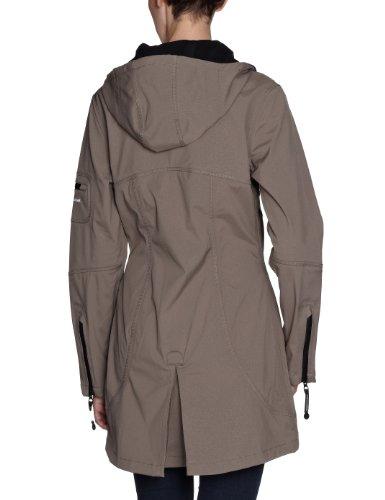 ILSE JACOBSEN Vêtements de pluie Capuche non amovible Manches longues Femme Gris (08))
