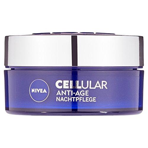 NIVEA Anti-Falten Nachtpflege, 50 ml Tiegel, CELLular Anti-Age
