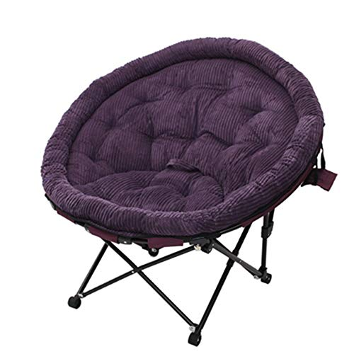132b97502 QTQZHH Folding House Chairs - Tabourets Moon Single - Lazy Sofa - Fauteuil  Sleep Sleep Lazy