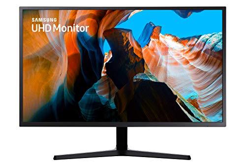 Samsung Monitor U32J592 Monitor UHD/4K 32'' per Console Gaming con Base a Doppio Snodo, 3840x2160, 60 hz, 4 ms, HDMI, 1.07 Milioni di Colori Supportati