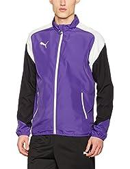 Puma Esito 4Woven Jacket Chaqueta, primavera/verano, hombre, color prism violet-puma white-ebony, tamaño XXL