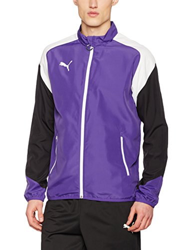 Puma Cat Woven Jacket (PUMA Herren Esito 4 Woven Jacket Jacke, Prism Violet-Puma White-Ebony, 3XL)