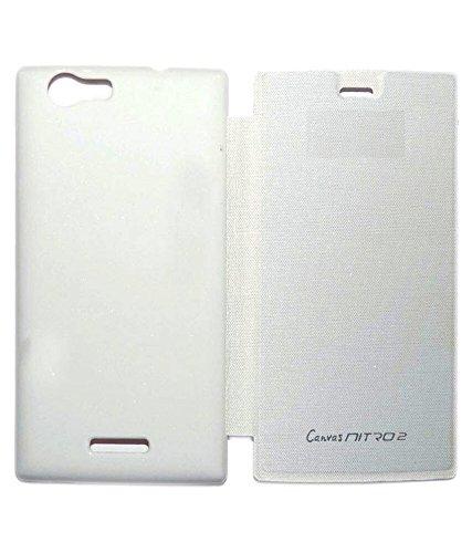 New Premium Quality Battery Back Case Flip Cover for Micromax Canvas Nitro E311