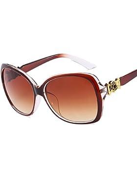 HCIUUI Nueva Europa y Estados Unidos Gafas de sol Gafas de sol 15850 Flower Spot Diamond Gafas de sol de moda...