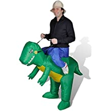 PP Tools Inflatable Costume - Inflables adultos Dinosaurio fantasía animal mítico Blow Up Party Fancy Dress Halloween Costume