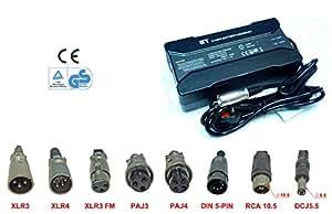 36 V bis au Lithium Li-Ion, LiFePO4 Chargeur de Batterie pour Scooter électrique pour chariot de Golf chariot imperméable pour fauteuil roulant électrique