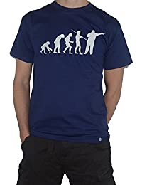 Evolution Darts T-Shirt - Ape to Man Funny Tee / Top by My Cup Of Tee