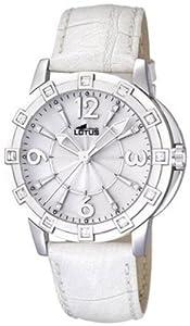 Reloj Lotus 15745/1 de cuarzo para mujer con correa de piel, color blanco de Lotus