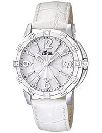 3c486ed118f4 Lotus 15745 1 - Reloj analógico de cuarzo para mujer con correa de piel
