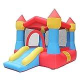 TAQUA Aufblasbares Schloss der Kinder, kleines Innentrampolin, Hauptschloss-Dia-Spielzeug