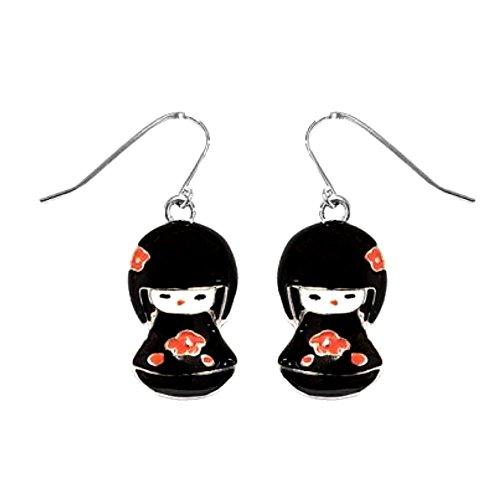haken-fur-ohrringe-ohrhanger-kokeshi-japanische-puppen-schwarz