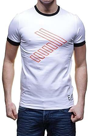 EA7 Emporio Armani - T Shirt 273813 5p254 Blanc - Couleur Blanc - Taille S