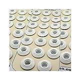 Langard 12mm bianco Snap 'N' Tap occhielli confezione da 60PZ