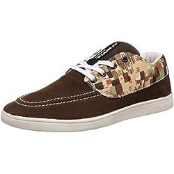Nivia Men's Brown and Beige Sneakers - 10 UK/India (43 EU)(4979)