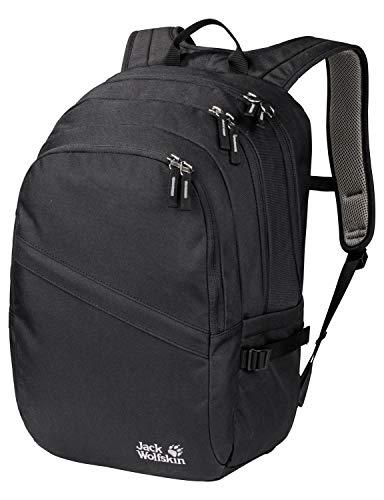 Jack Wolfskin Dayton Alltag Daypack Rucksack, Black, ONE Size