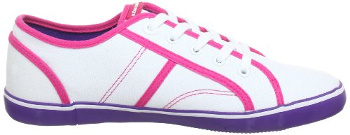 Björn Borg Footwear KING 1211090501, Baskets mode femme Blanc - Weiß/Pink