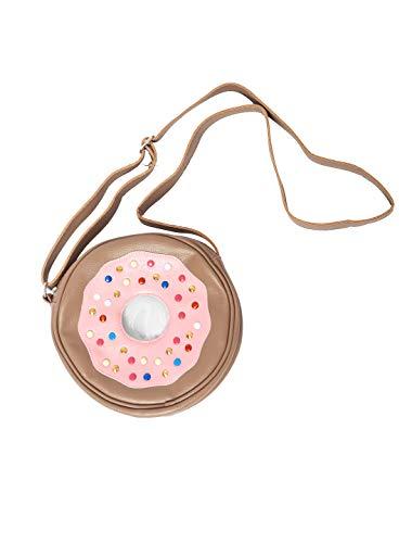 Tasche Candy Donut rosa/braun Keine Größe