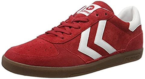hummel Unisex-Erwachsene Victory Low-Top, Rot (Ribbon Red), 41 EU