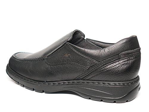 Fluchos Chaussures Homme type mocassin–Disponible en marron et noir–7781–62et 74 Noir