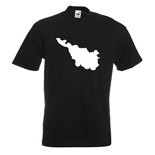 KIWISTAR - Bremen Deutschland Silhouette T-Shirt in 15 verschiedenen Farben - Herren Funshirt bedruckt Design Sprüche Spruch Motive Oberteil Baumwolle Print Größe S M L XL XXL Schwarz